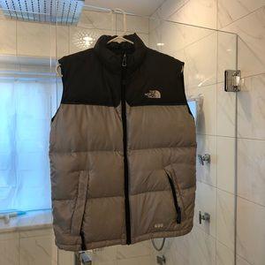 North Face Down Vest Size Large (says children's)
